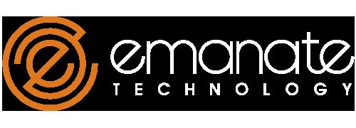 Emanate logo header