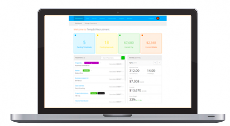 Branded Timesheet Invoicing Portal